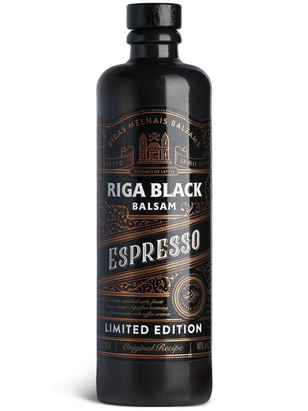 Liqueur Espresso Riga Black Balsam 40% 500ml, 12/box