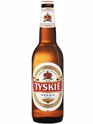Beer Tyskie 500ml, 5,5% Alc, 20/case