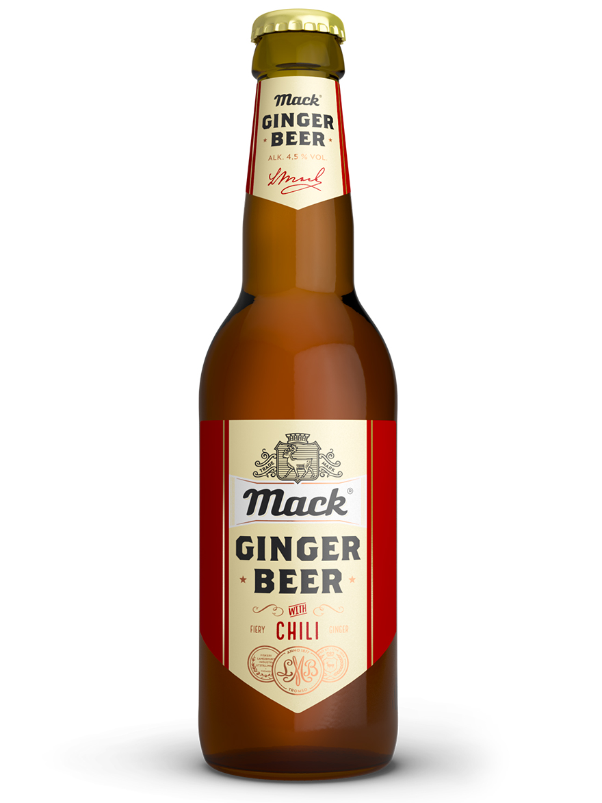 Ginger Beer with Chili Mack 4.5% 330ml / 12 case