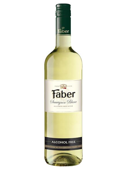 Wine Sauvignon Blanc Alc Free Faber 750ml - 6/case