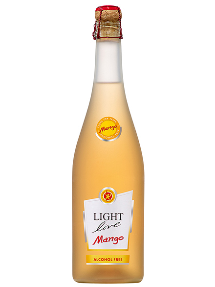 Sparkling Wine Mango Alc Free LIGHT live 750ml - 6/case