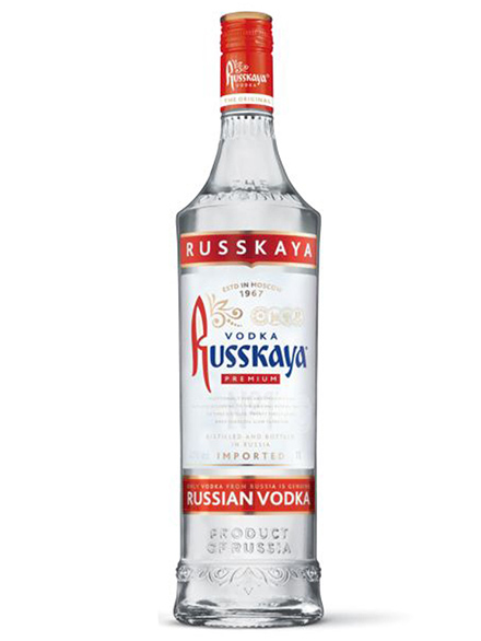 Vodka Russkaya Premium 40% 1L, 6 case