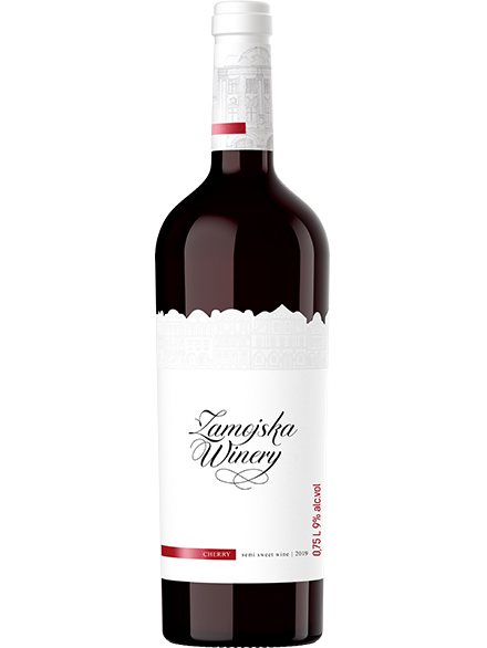 Cherry Wine Zamojska 9% 750ml - 6/case