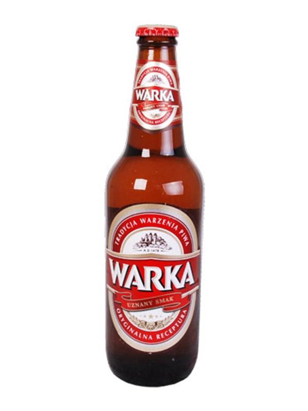Beer Warka 500ml, 6.5% Alc, 20/case