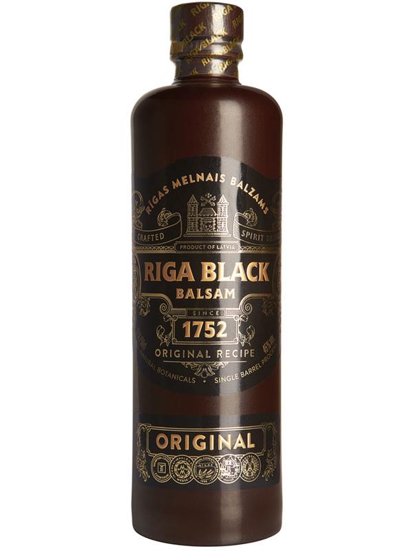 Liqueur Original Riga Black Balsam 45% 500ml, 12/box