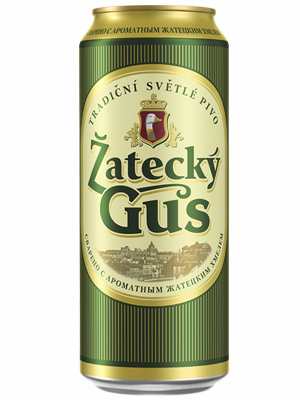 Beer Zatecky Gus, can 900ml, 4.6% alc, 12/case