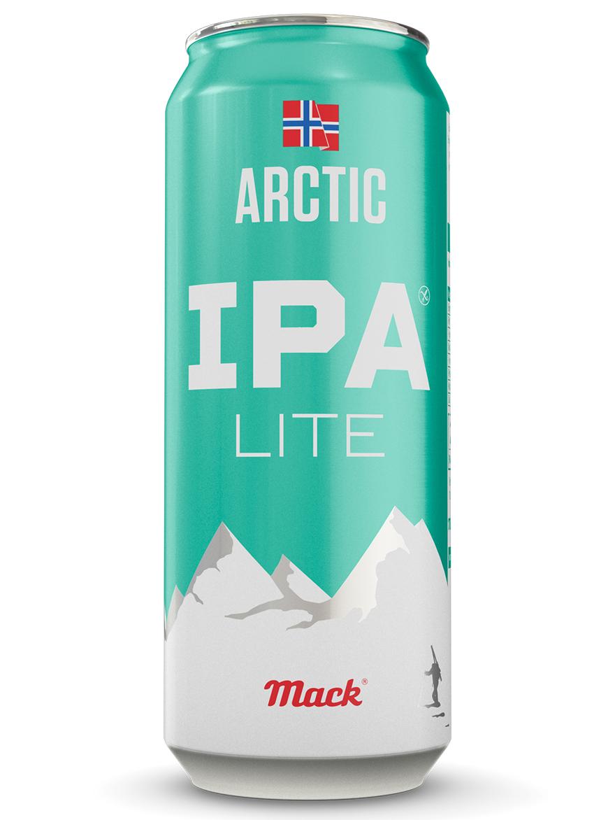 Beer IPA ARCTIC Low-Gluten Mack 4.7% 500ml - 4-pack 6/case