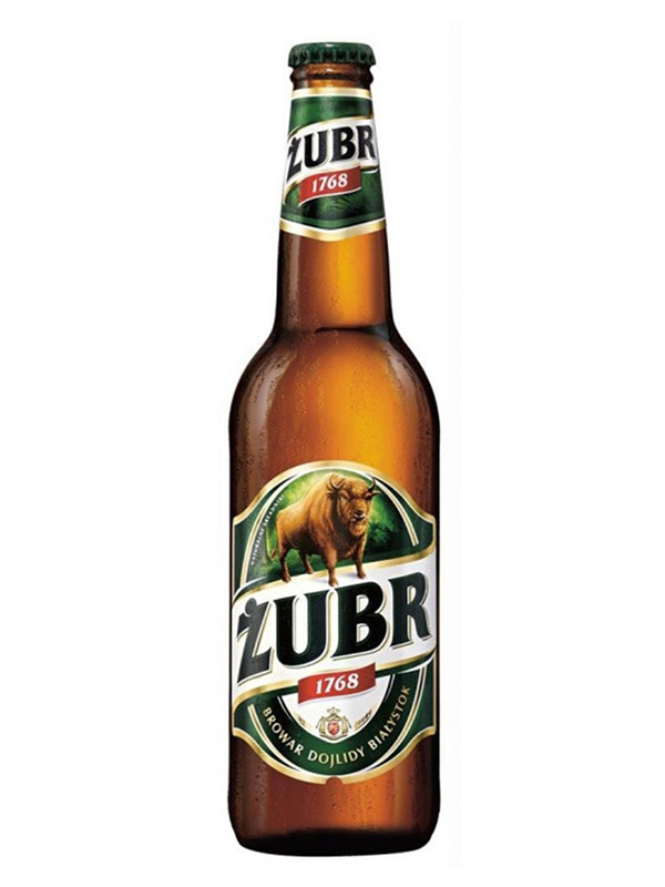 Beer Zubr 500ml, 6% Alc, 20/case