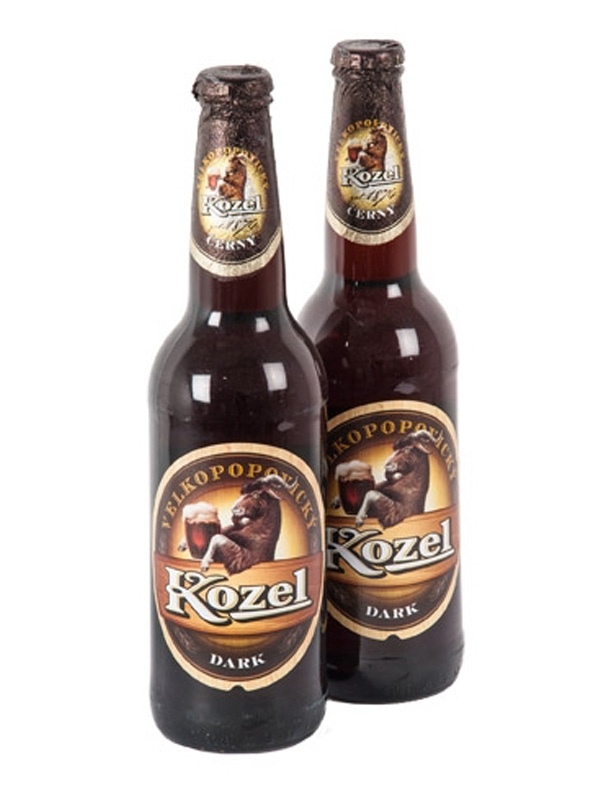 Beer Kozel Dark, bottle 500ml, 3.8% Alc, 20/case