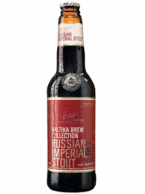 Beer Baltika Russian Imperial Stout, Bottle 440ml, 10% alc, 20/case