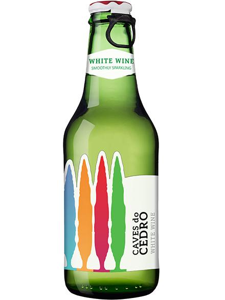 Sparkling Wine White Caves do Cedro 11% 250ml - 12/case