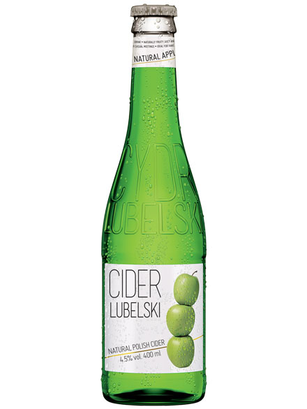 Cider Apple Classic Lubelski 4.5% 400ml, 12 per box