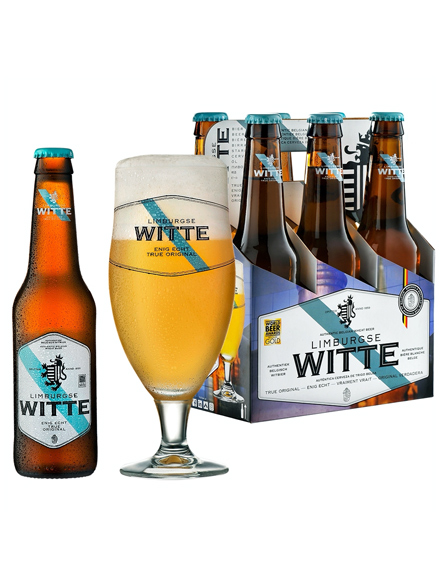 Beer Limburgse Witte 5.0% Alc 330ml, 6-pack, 4/case