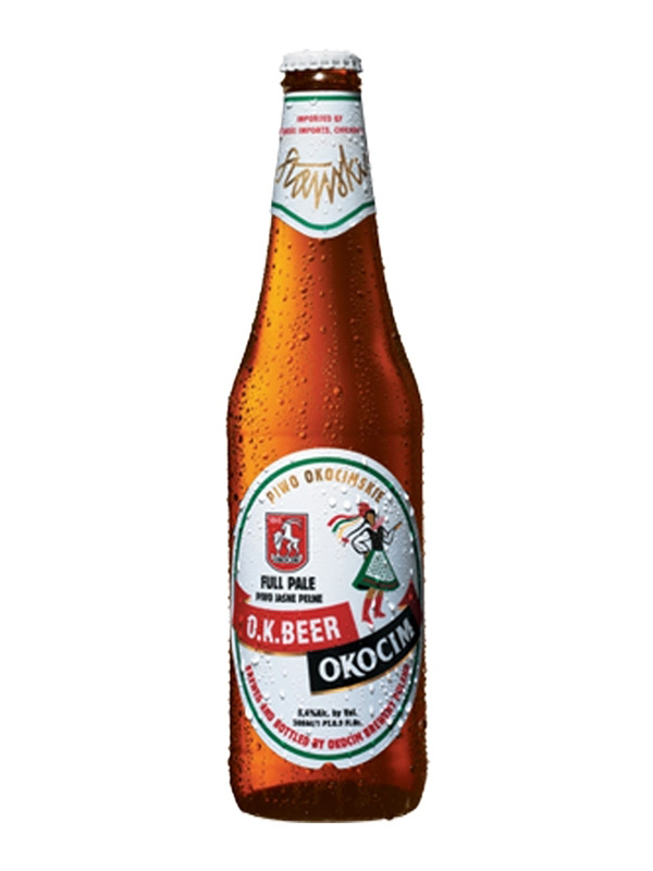 Beer Okocim 500ml, 5,6% Alc 20/case