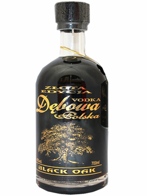 Vodka Debowa Black Oak 700ml, 40% Alc, 6 per case