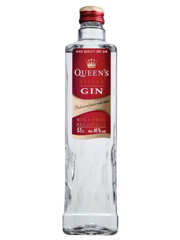 Queen's Gin 40% 500ml / 12 per case