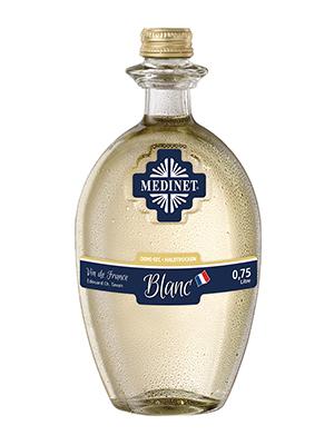 WIne Blanc Medinet , 750ml, 11% alc, 6/case