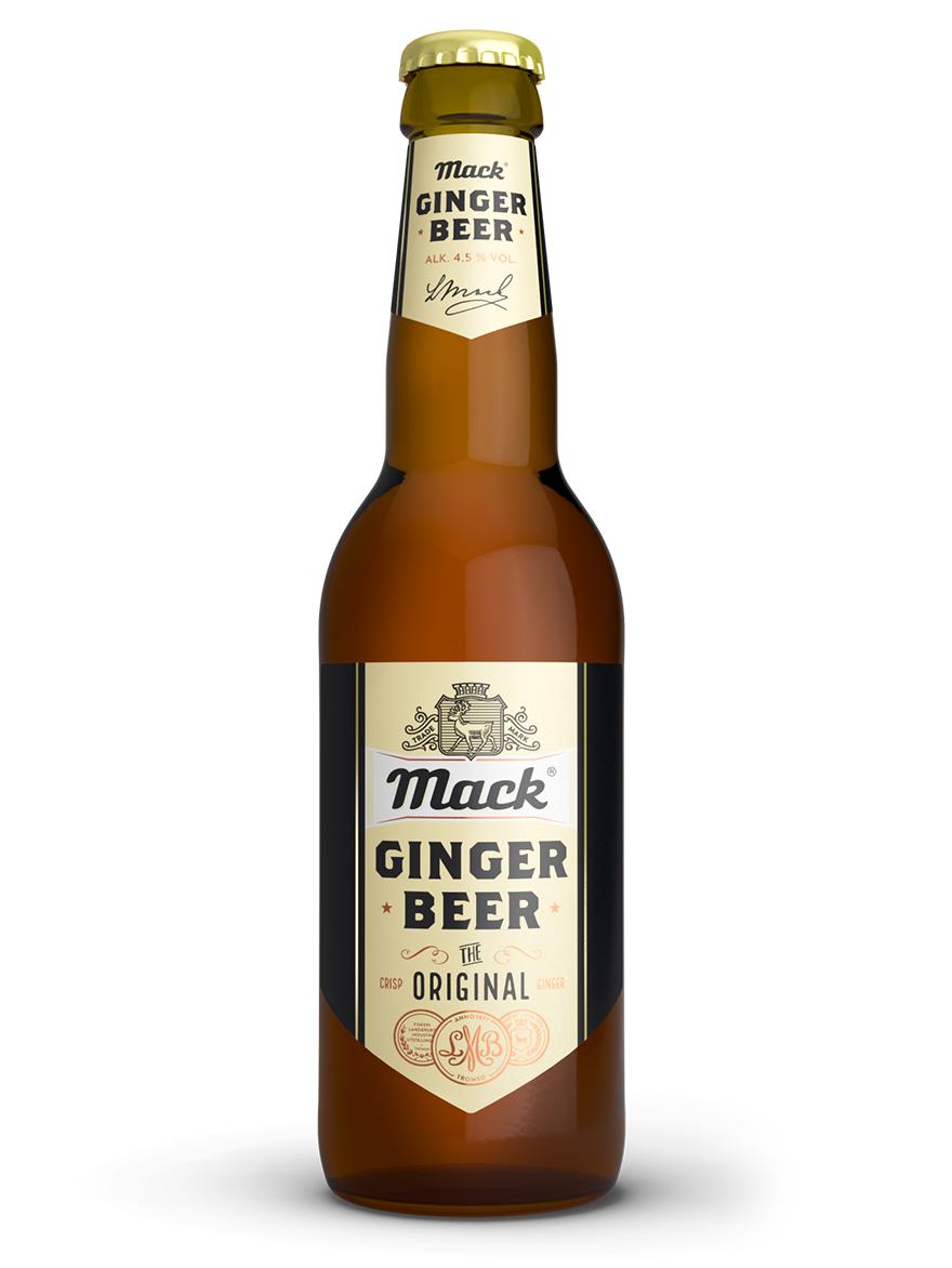 Ginger Beer Original Mack 4.5% 330ml / 12 case