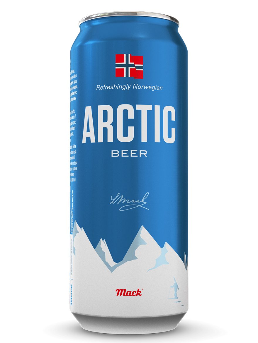 Beer Pilsner Arctic Mack 4.7% 500ml, 24/case