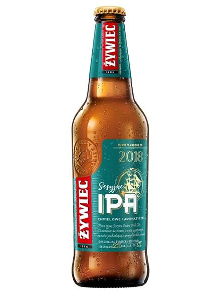 Beer Ipa Zywiec Bottle 5% 500ml, 20/case