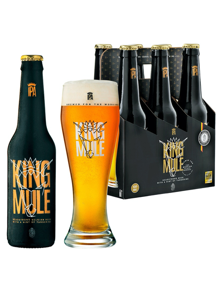 Beer King Mule IPA 5.7% Alc 330ml, 6-pack, 4/case