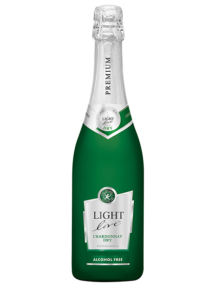 Wine Chardonnay Sparkling Alcohol Free PREMIUM 750ml - 6/case