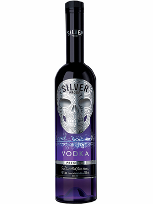 Vodka Silver Probe 700ml, 40% Alc, 6/case