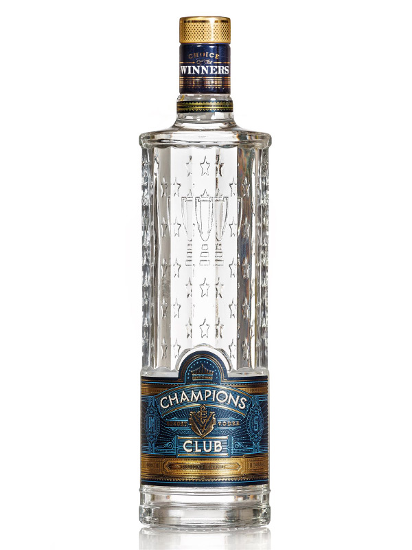 Vodka Champions Club 500ml, 40% Alc, 20/case
