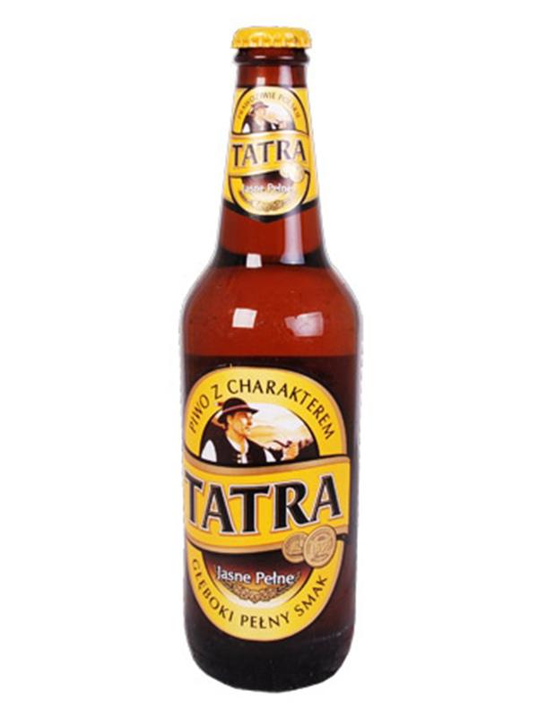 Beer Tatra 500ml, 6,0% Alc, 20/case
