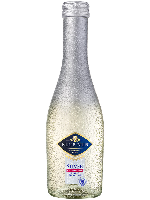 Sparkling Wine Blue Nun  Silver ALCOHOL FREE 200ml - 12/case