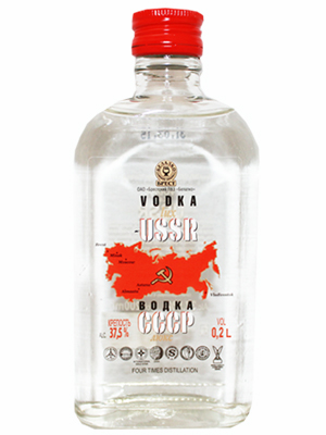 Vodka USSR 1 Litre, 32% Alc, 12/case