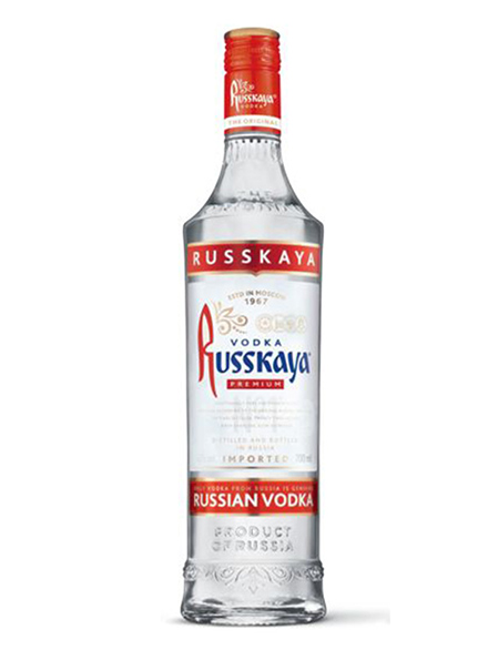 Vodka Russkaya Premium 40% 700ml, 6 case