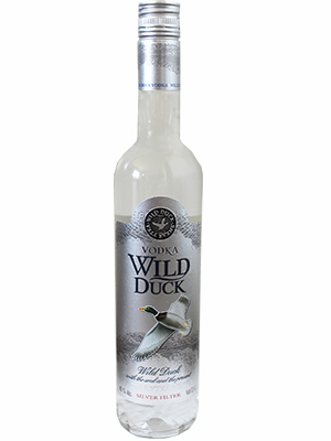 Vodka Wild Duck Platinum 500ml, 40% Alc, 20/case