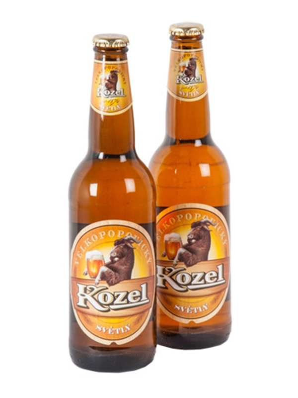 Beer Kozel Light, bottle 500ml, 4,0% alc, 20/case