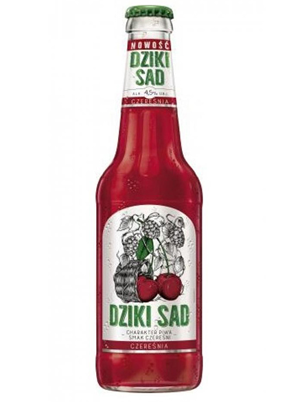 Beer with Plum Dziki Sad Bottle 4.5% 400ml, 20/case