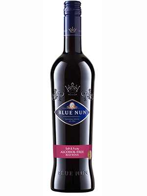 Red Wine Blue Nun ALCOHOL FREE - 12/case